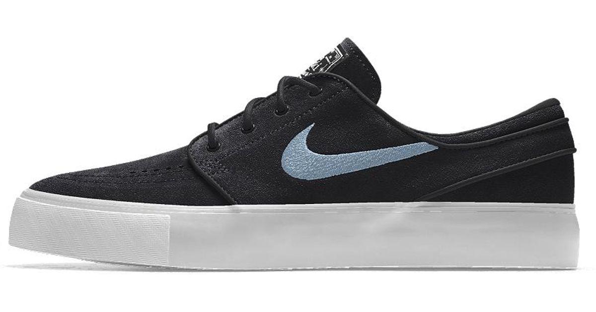 utterly stylish uk cheap sale special sales Nike Black Sb Zoom Stefan Janoski Id Women's Skateboarding Shoe