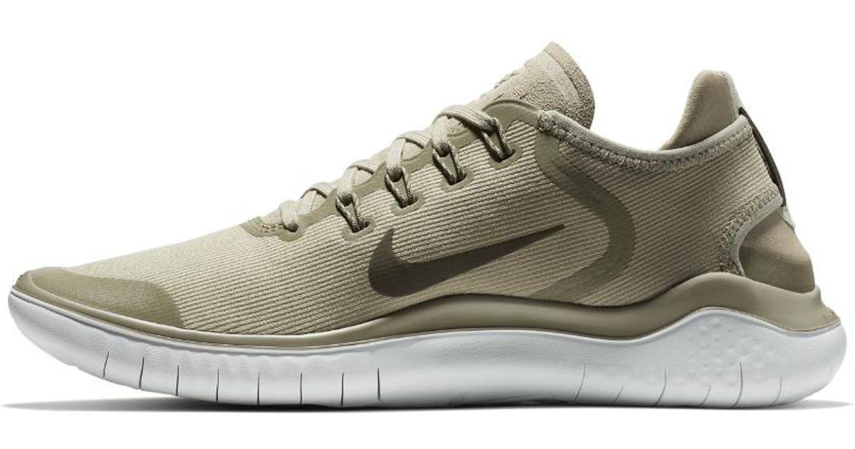 13b4dcc1c476 Lyst - Nike Free Rn 2018 Sun Men s Running Shoe in Gray for Men