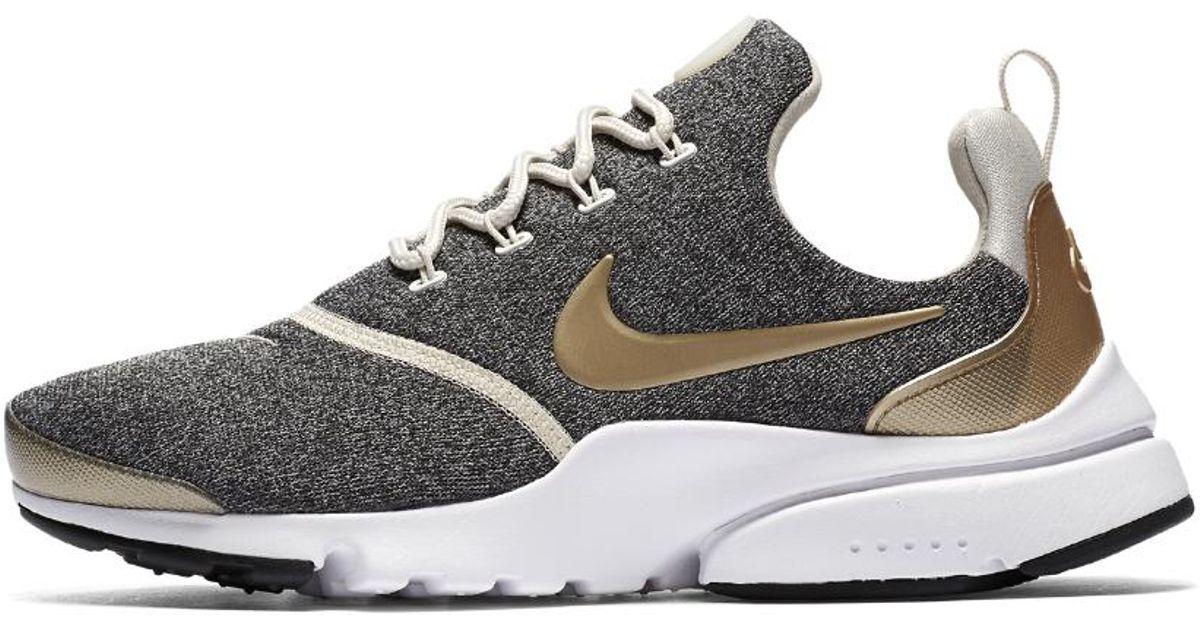 hot sale online 9b950 69990 Nike White Presto Fly Se Women's Shoe
