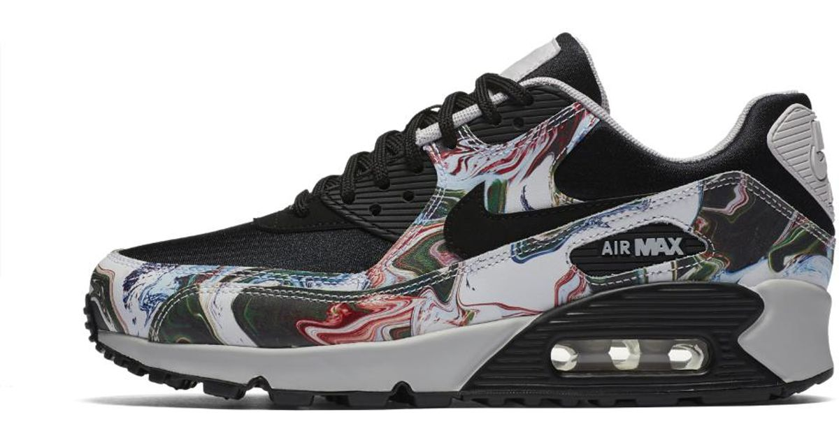 56da5774f9e78 Lyst - Nike Air Max 90 Marble Women s Shoe in Black