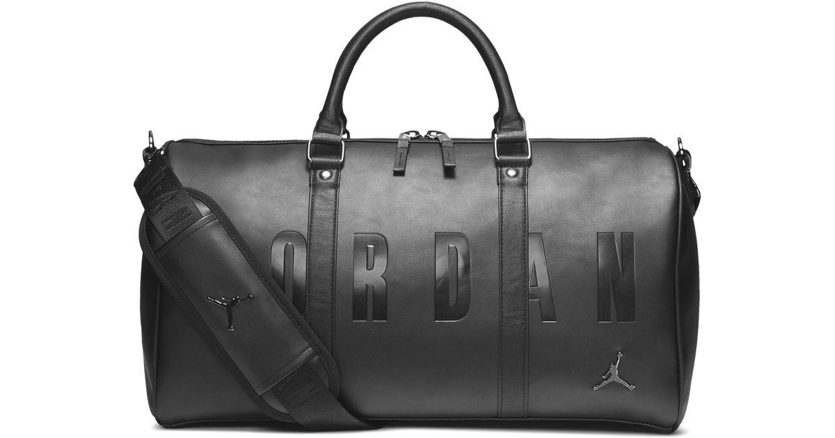 Nike Black Jordan Jumpman Sporttasche