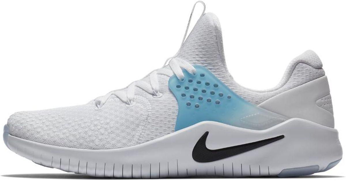 0d03729cd61 Lyst - Nike Free Tr V8 Men s Training Shoe in White for Men