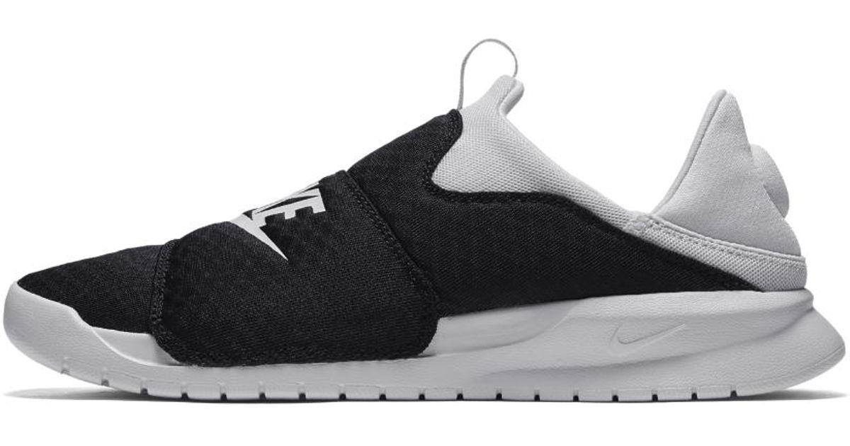 Lyst - Nike Benassi Slip Shoe in Gray for Men 4e5d5e8f4