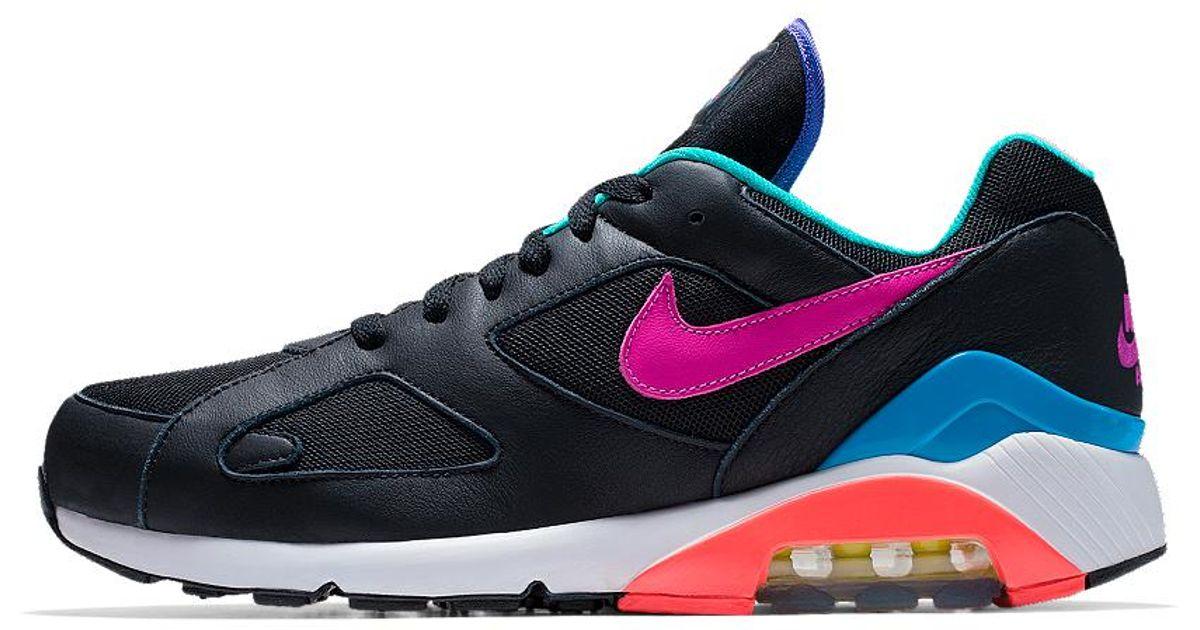 Nike Blue Air Max 180 Premium Id Men's Shoe for men