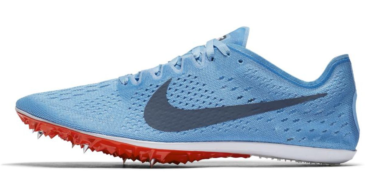 best cheap e6bd4 3e564 ... Lyst - Nike Zoom Victory Elite 2 Racing Spike in Blue for Me ...