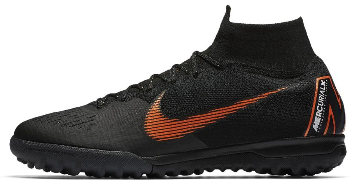 00b321dea005 Lyst - Nike Mercurialx Superfly 360 Elite Tf Turf Soccer Shoe in Black for  Men