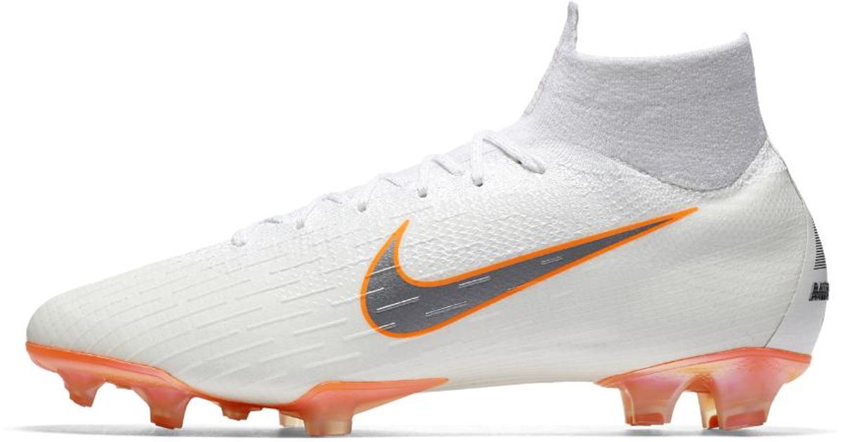 3bd3370ce0d Nike Mercurial Superfly 360 Elite Just Do It Firm-ground Soccer Cleats in  White for Men - Lyst