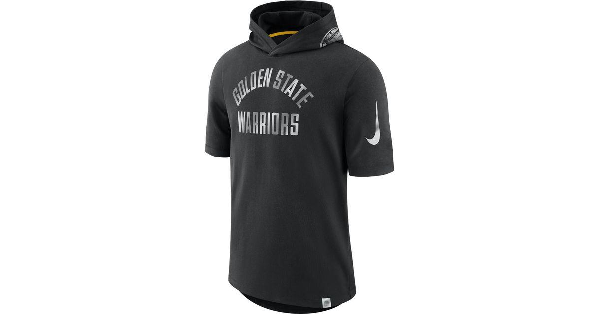 golden state warriors t shirt nike