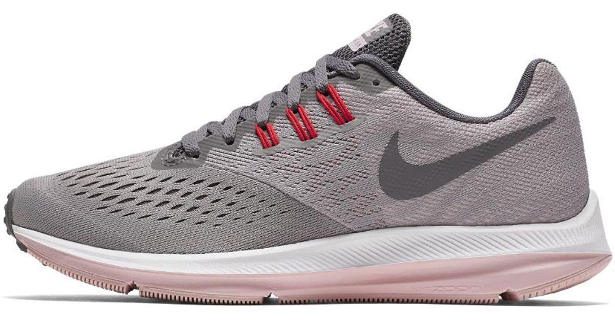 a8d92942051d Lyst - Nike Zoom Winflo 4 Women s Running Shoe in Gray