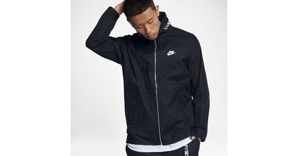 Nike Black Sportswear Air Max Men's Jacket for men