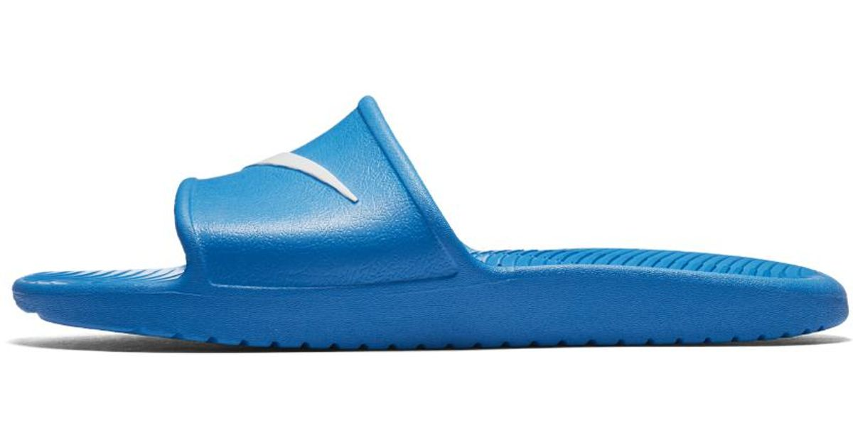 promo code dfce5 78d61 Lyst - Nike Kawa Shower Men s Slide Sandal in Blue for Men - Save 23%