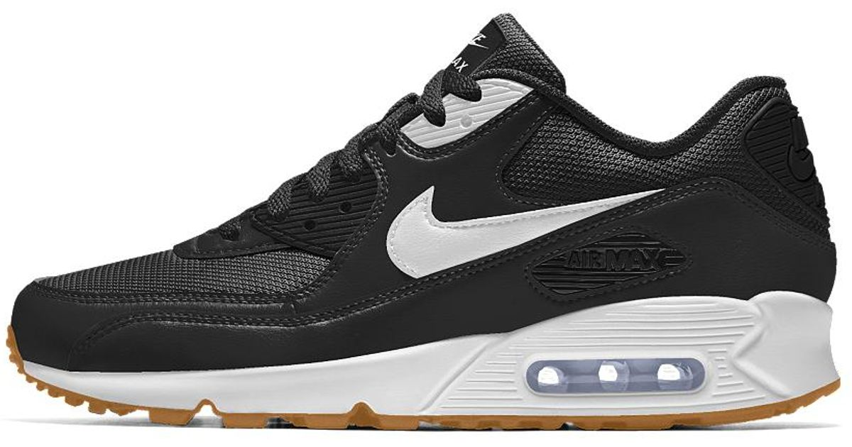 64dfe6793eb Lyst - Nike Air Max 90 Id Men s Shoe in Black for Men nike id air