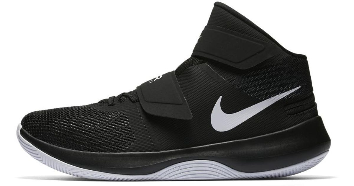 b04a204a8f30 Lyst - Nike Air Precision Flyease (wide) Men s Basketball Shoe in Black for  Men