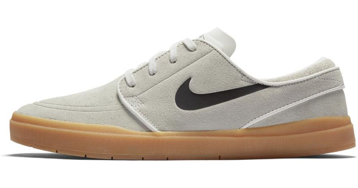 huge selection of d03ef 1622a Nike Sb Lunar Stefan Janoski Hyperfeel Men s Skateboarding Shoe in White  for Men - Lyst