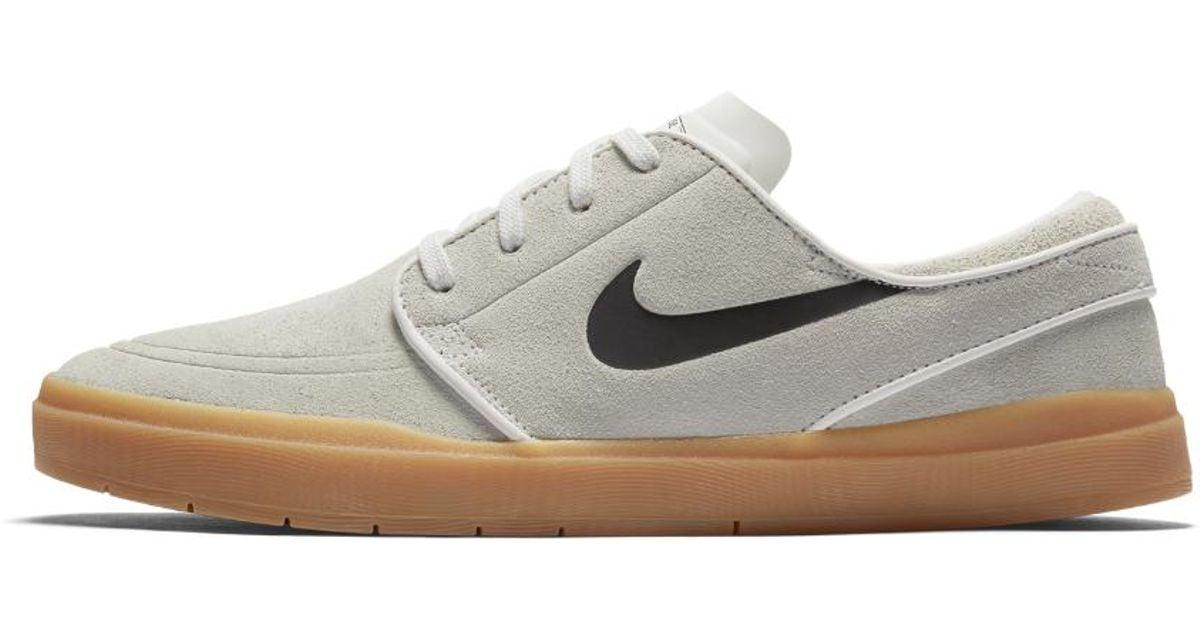 99a6946475a Lyst - Nike Sb Lunar Stefan Janoski Hyperfeel Men s Skateboarding Shoe in  White for Men