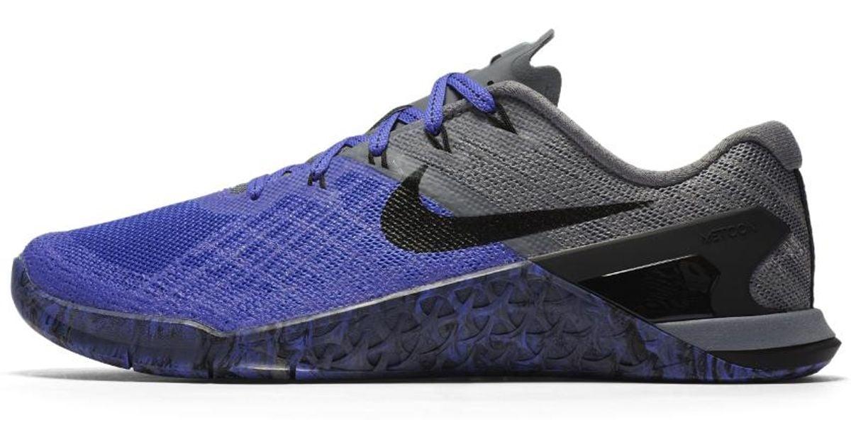 53b04270ead9 Lyst - Nike Metcon 3 Women s Training Shoe in Gray