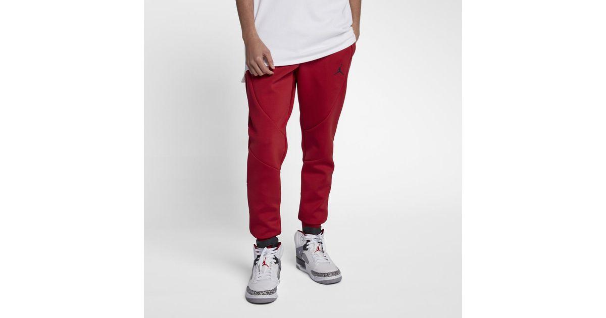 4b6443ef143 Nike Sportswear Flight Tech Men's Fleece Pants, By Nike in Red for Men -  Lyst