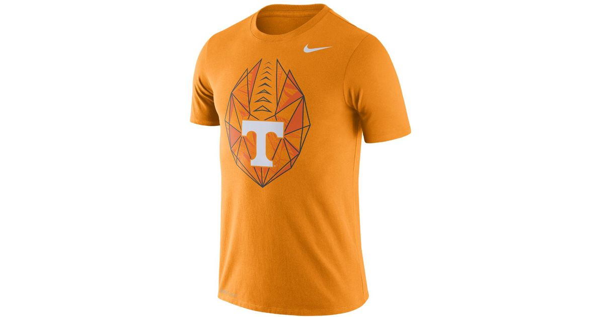 d3f403bebac4 Lyst - Nike College Dri-fit Football Icon (tennessee) Men s T-shirt in  Orange for Men