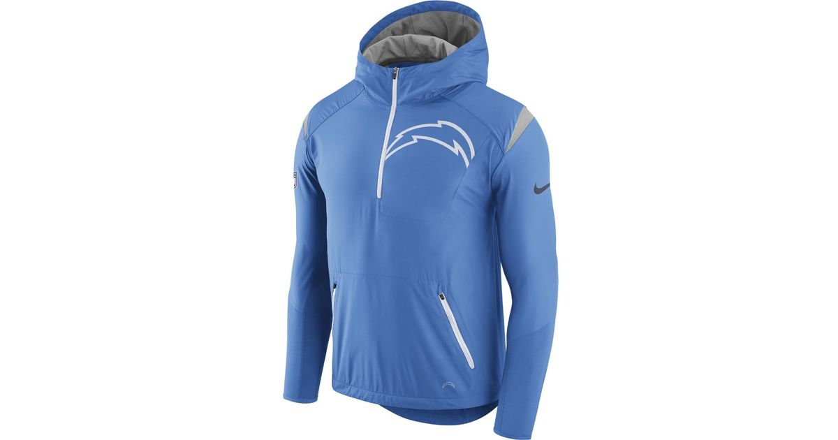 b8457d2b531e Lyst - Nike Lightweight Fly Rush (nfl Chargers) Men s Jacket in Blue for Men