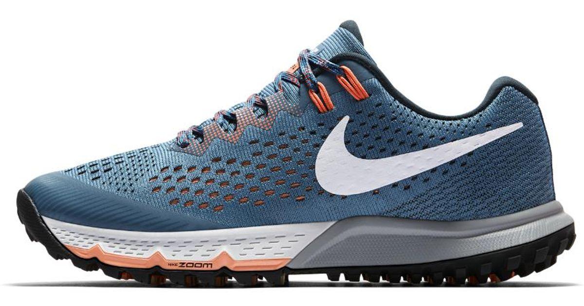 4d9e59ad532b9 Lyst - Nike Air Zoom Terra Kiger 4 Women s Running Shoe in Blue for Men