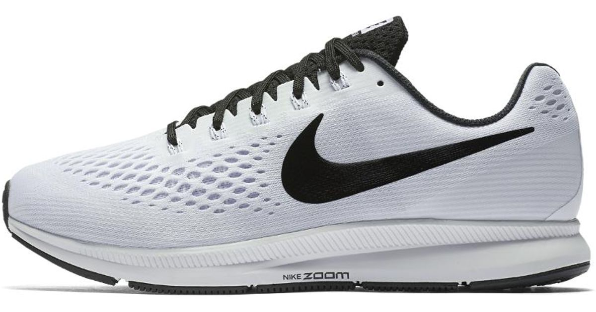 63dfee1a732 Lyst - Nike Air Zoom Pegasus 34 (extra-wide) Men s Running Shoe in White  for Men
