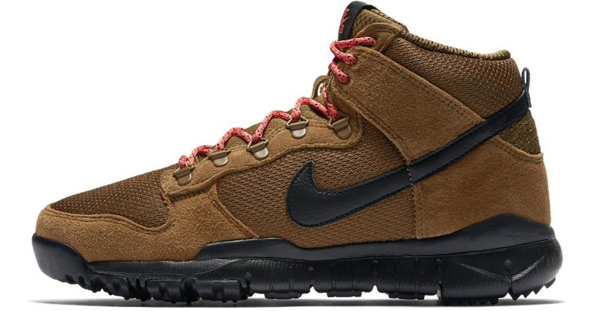 Nike Rubber Sb Dunk High Men's Boot in