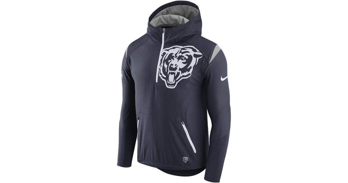 wholesale dealer 7d29e b94bc Nike Blue Lightweight Fly Rush (nfl Bears) Men's Jacket for men