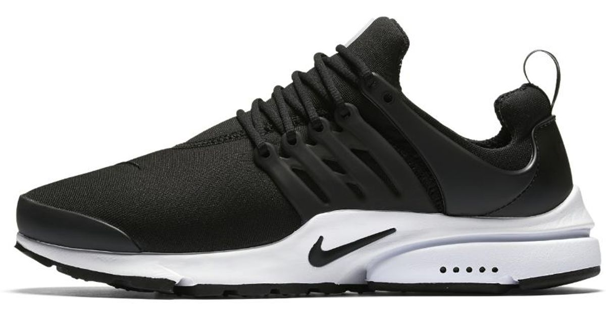 Nike Air Presto Essential Men S Shoe In Black White Black