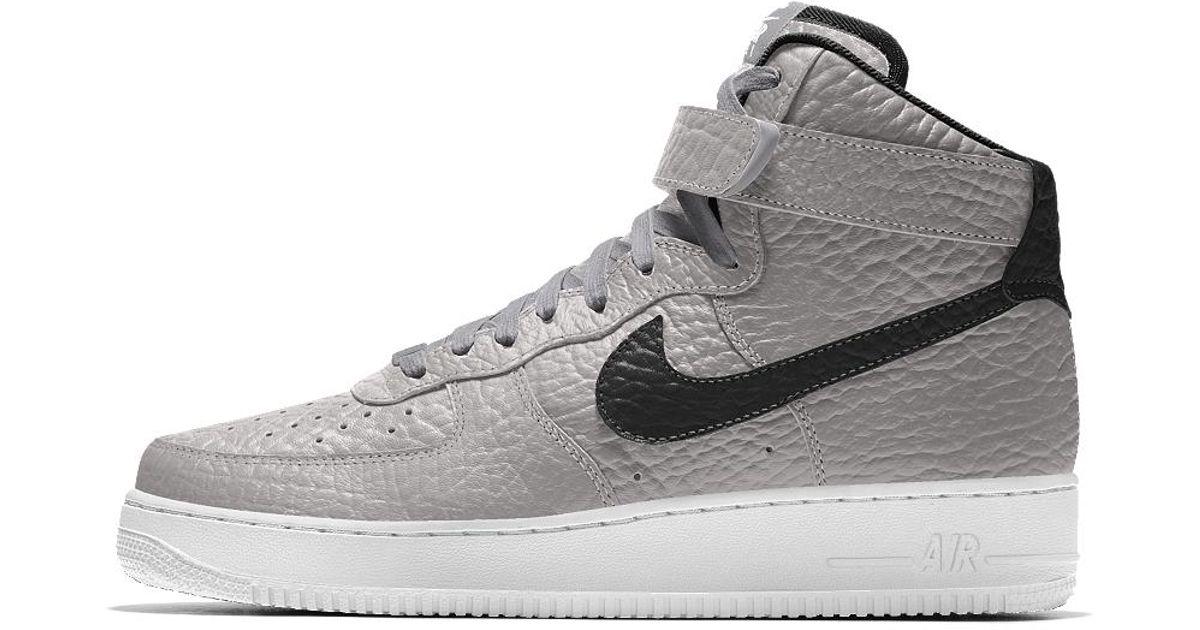 separation shoes 94e15 c3587 Nike Air Force 1 High Premium Id (brooklyn Nets) Men s Shoe for Men - Lyst
