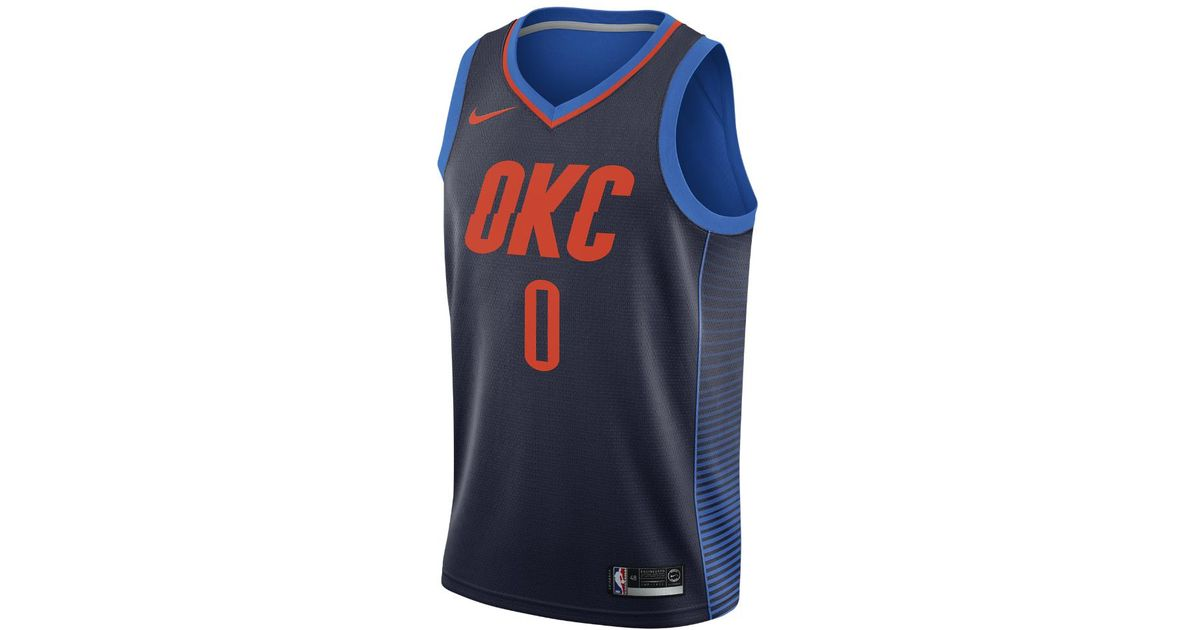 Lyst - Nike Russell Westbrook Statement Edition Swingman Jersey (oklahoma  City Thunder) Men s Nba Connected Jersey in Blue for Men 470f0ce3b