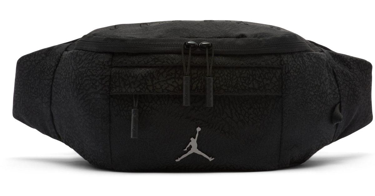 1e76b3227ae2e6 Nike Jordan Jumpman Air Crossbody Bag in Black for Men - Lyst