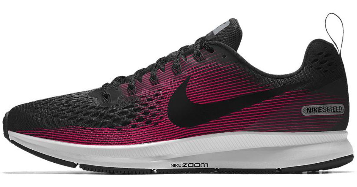 new product 13786 50187 Nike Multicolor Air Zoom Pegasus 34 Shield Id Women's Running Shoe