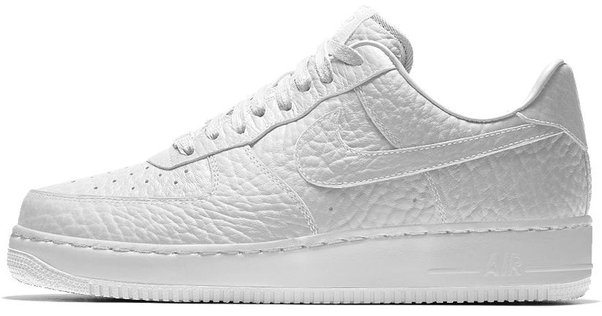 the latest 75221 766be ... shopping lyst nike air force 1 low premium id golden state warriors mens  shoe in white