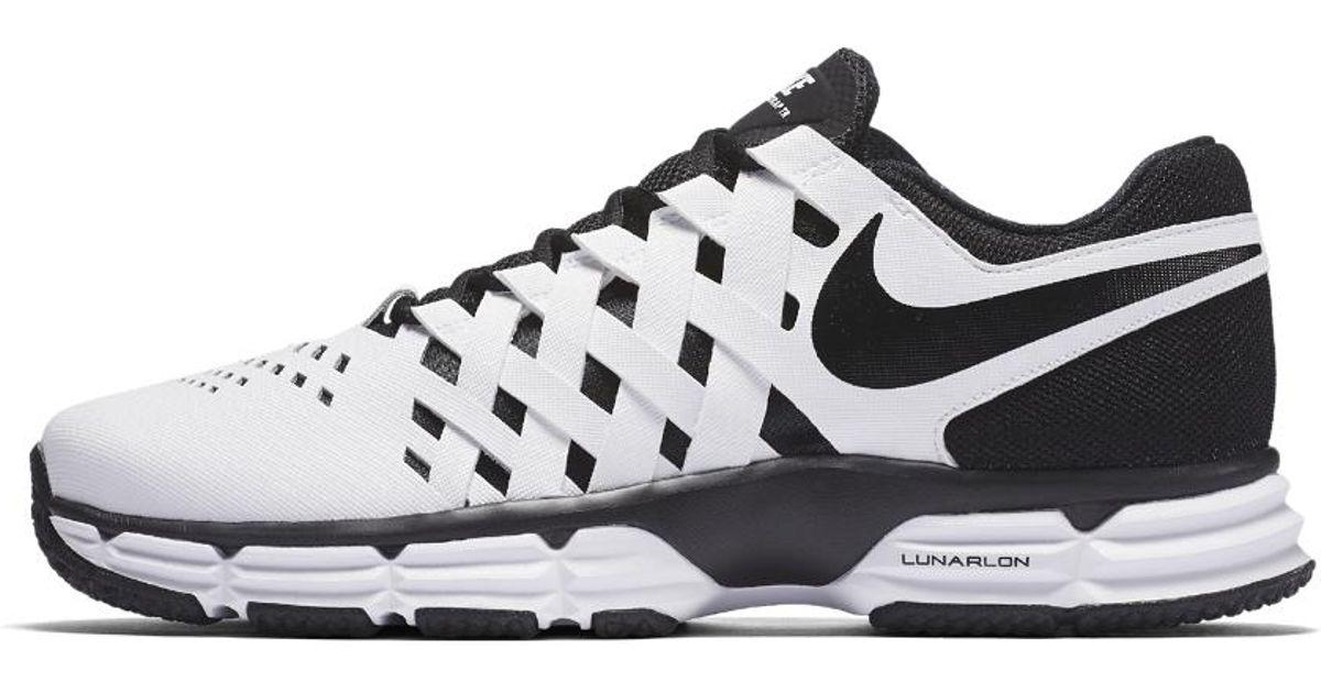 42df7e1ea78a88 Lyst - Nike Lunar Fingertrap (extra Wide) Tr Men s Training Shoe in White  for Men