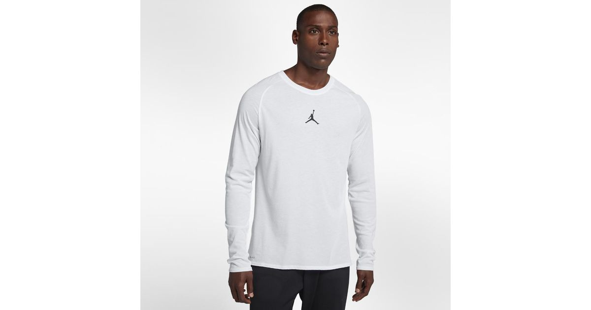 b0463977ab3e Lyst - Nike Dri-fit 23 Alpha Men s Long Sleeve Training Top