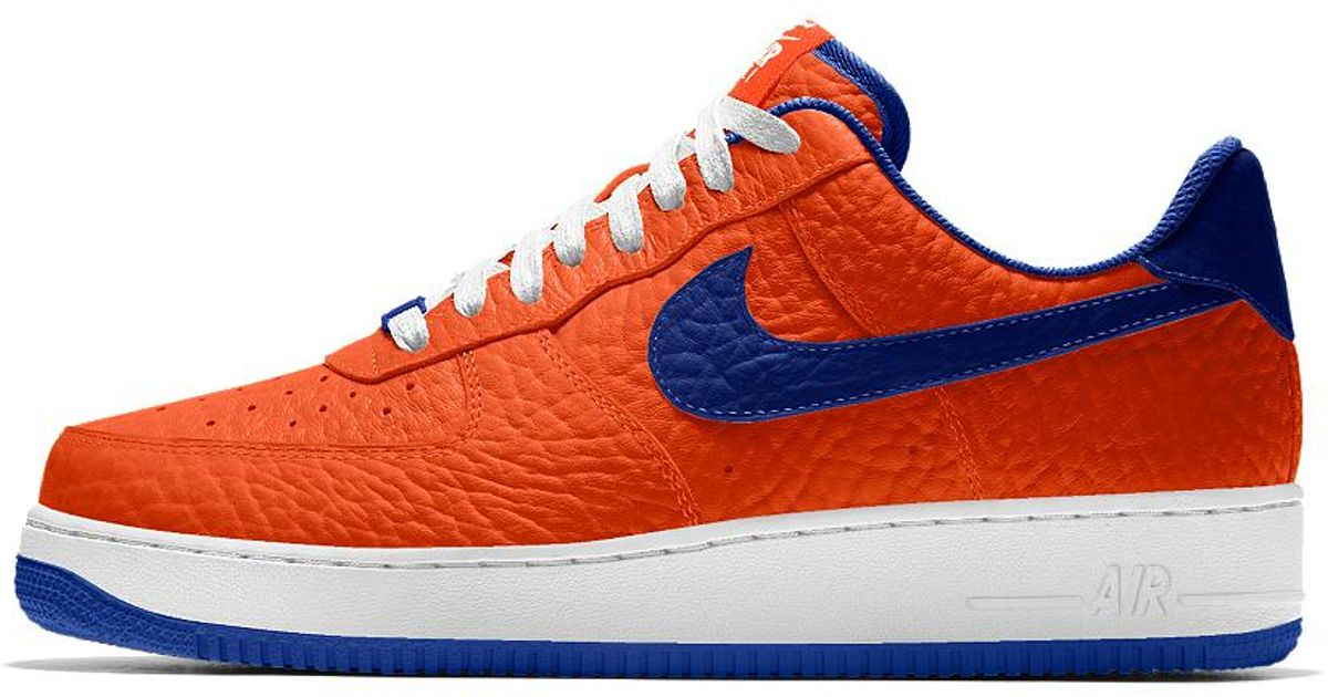 low cost d0123 93dd1 ... Lyst - Nike Air Force 1 Low Premium Id (new York Knicks) Men s ...