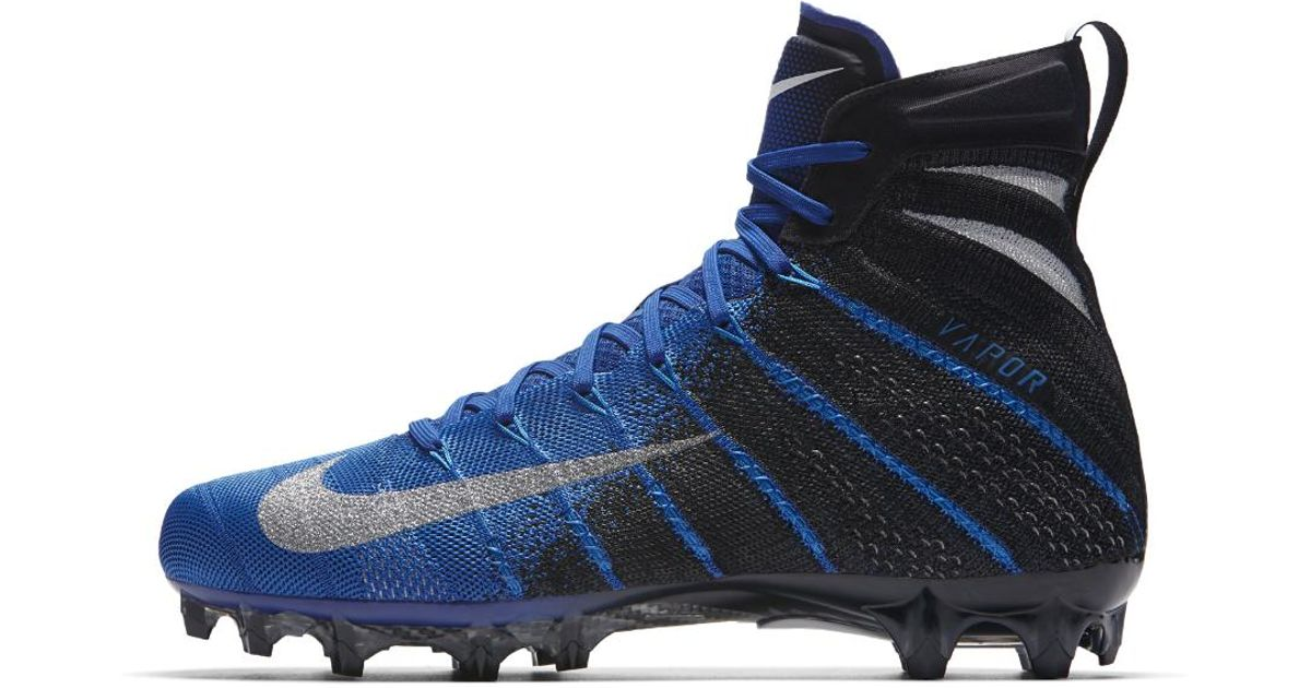 Nike Blue Vapor Untouchable 3 Elite Football Cleats for men