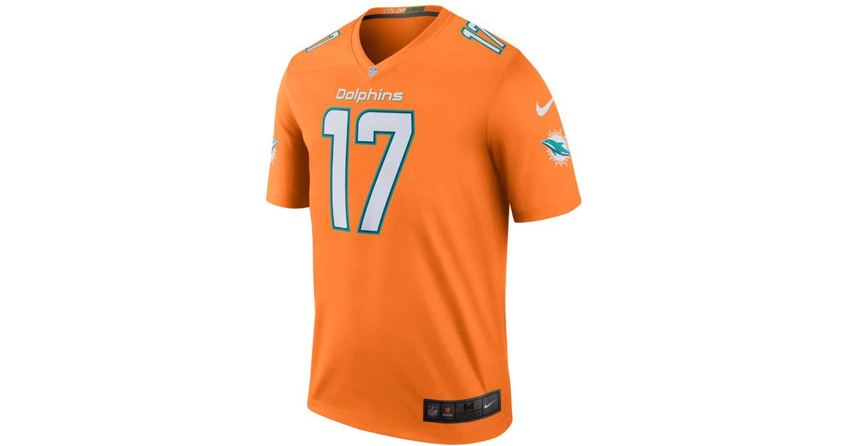 1c3105f1a Lyst - Nike Nfl Miami Dolphins Color Rush Legend (ryan Tannehill) Men s  Football Jersey in Orange for Men