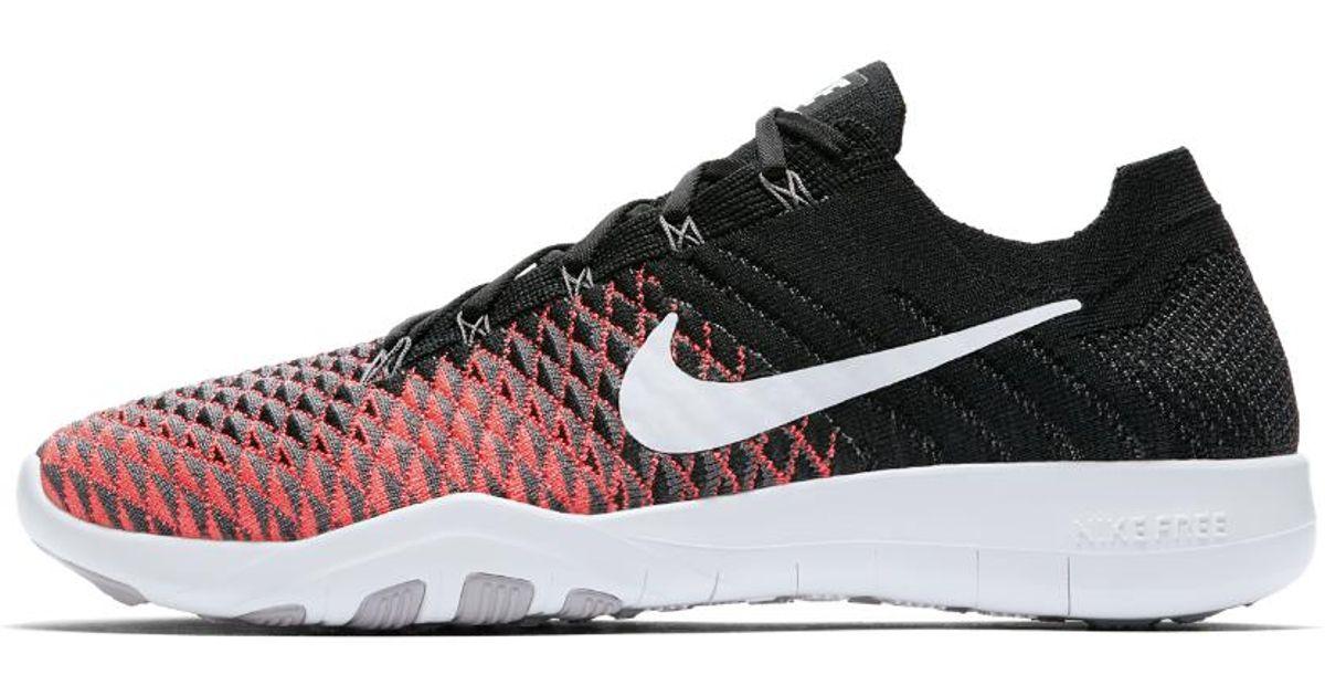 c8c00c55b1ce Lyst - Nike Free Tr Flyknit 2 Women s Training Shoe