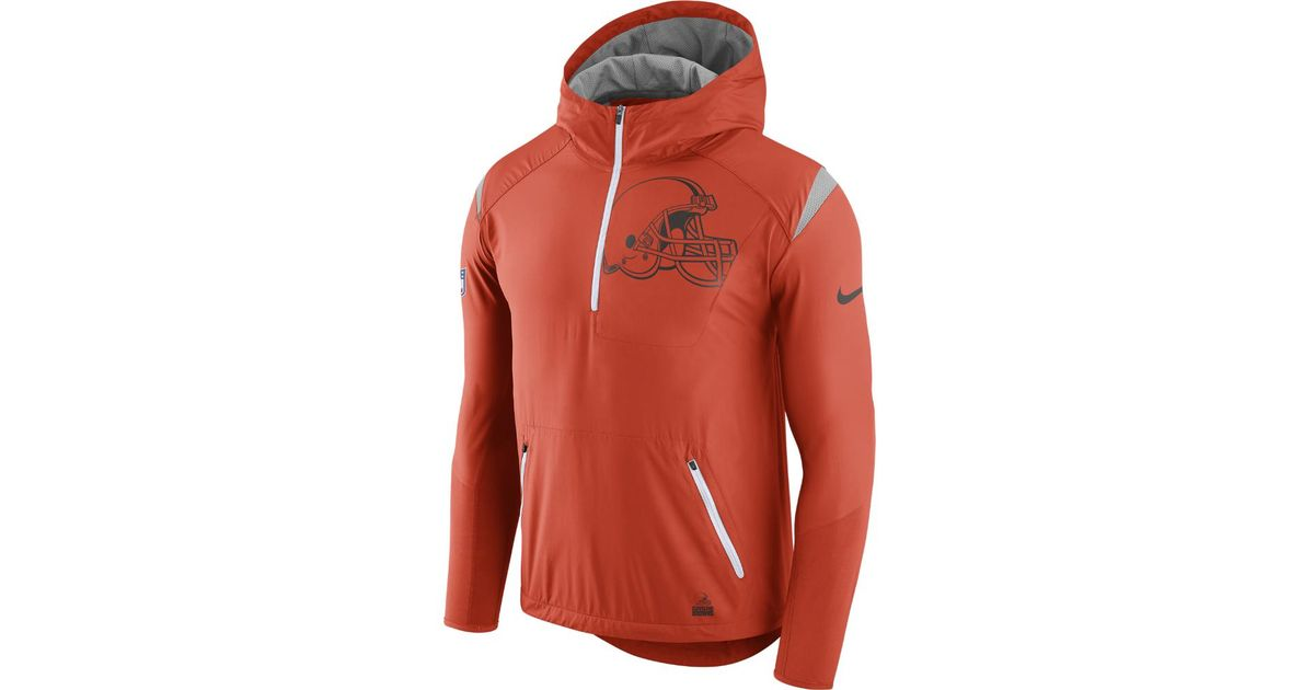 quality design 5fbec 972aa Nike - Orange Lightweight Fly Rush (nfl Browns) Men's Jacket for Men - Lyst