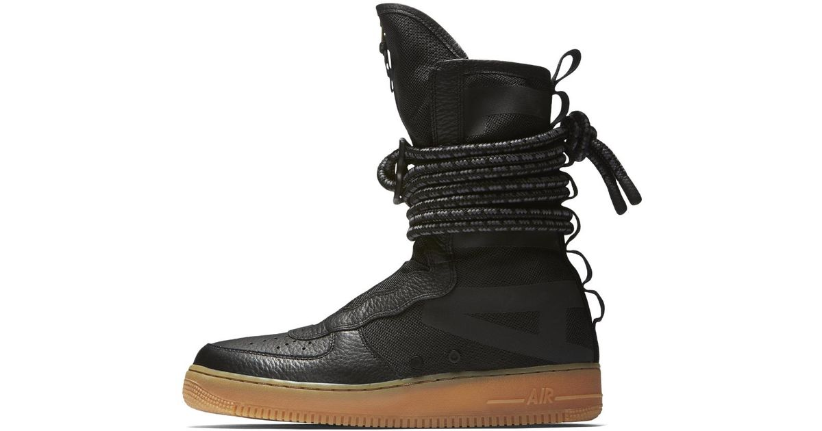 Lyst - Nike Sf Air Force 1 Hi Men s Boot in Black for Men 788554d7a