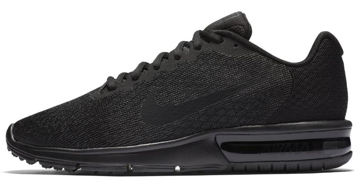 separation shoes b57a9 d4488 Nike Air Max Sequent 2 Men s Running Shoe in Black for Men - Lyst