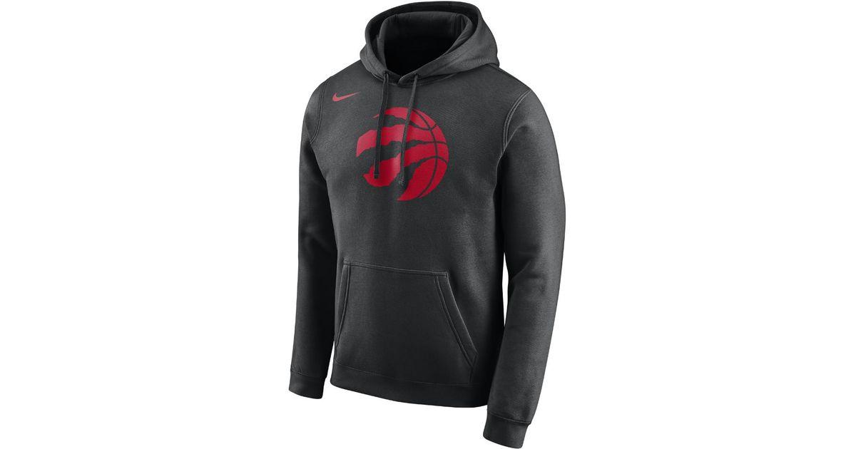 Nike Black Toronto Raptors Nba Hoodie for Men Lyst