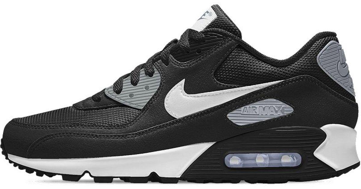 Lyst - Nike Air Max 90 Essential Id Men s Shoe in Black for Men 69f76add2