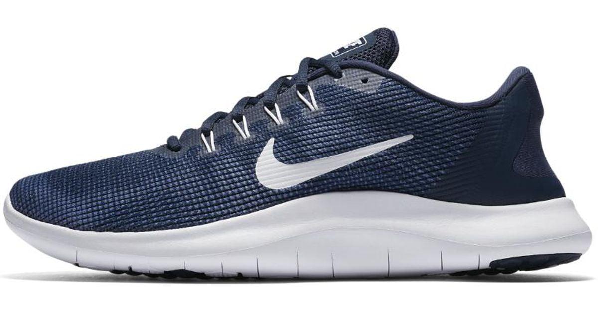 bc868aeb01b Lyst - Nike Flex 2018 Rn Men s Running Shoe in Blue for Men