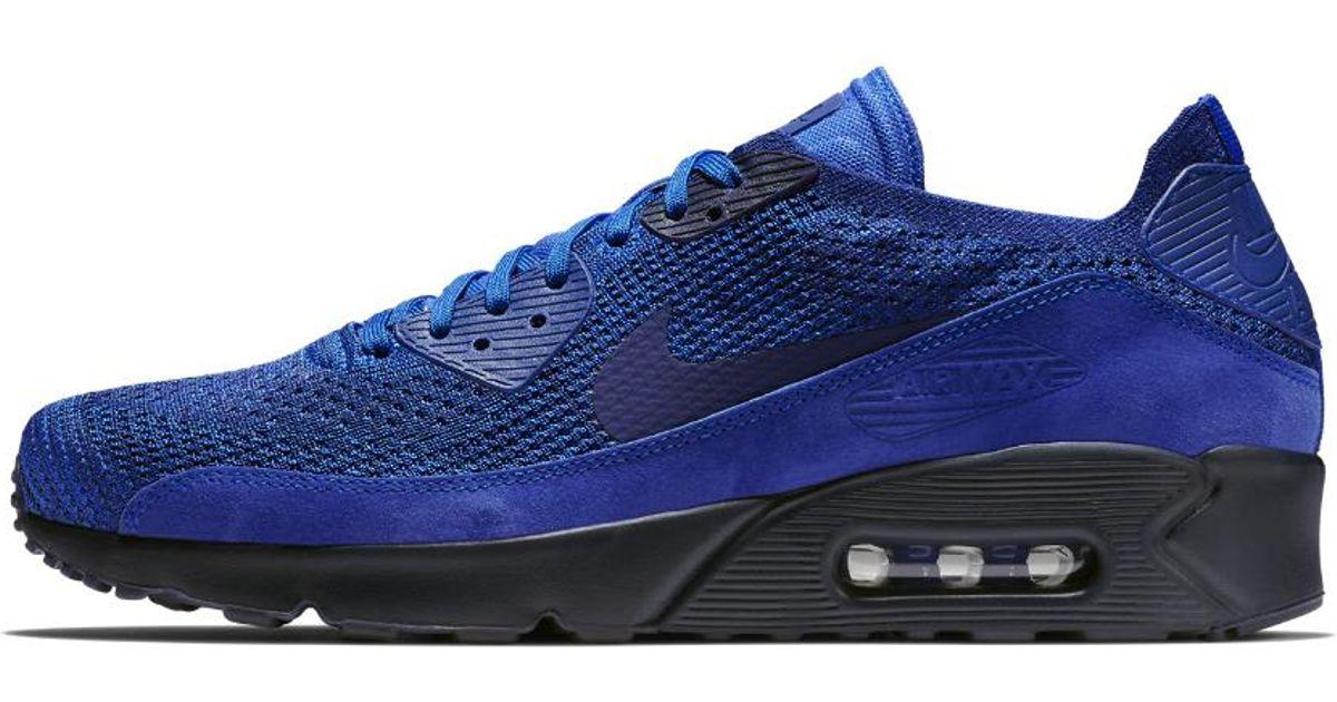 official photos 57068 d2732 Nike - Blue Air Max 90 Ultra 2.0 Flyknit Men's Shoe for Men - Lyst