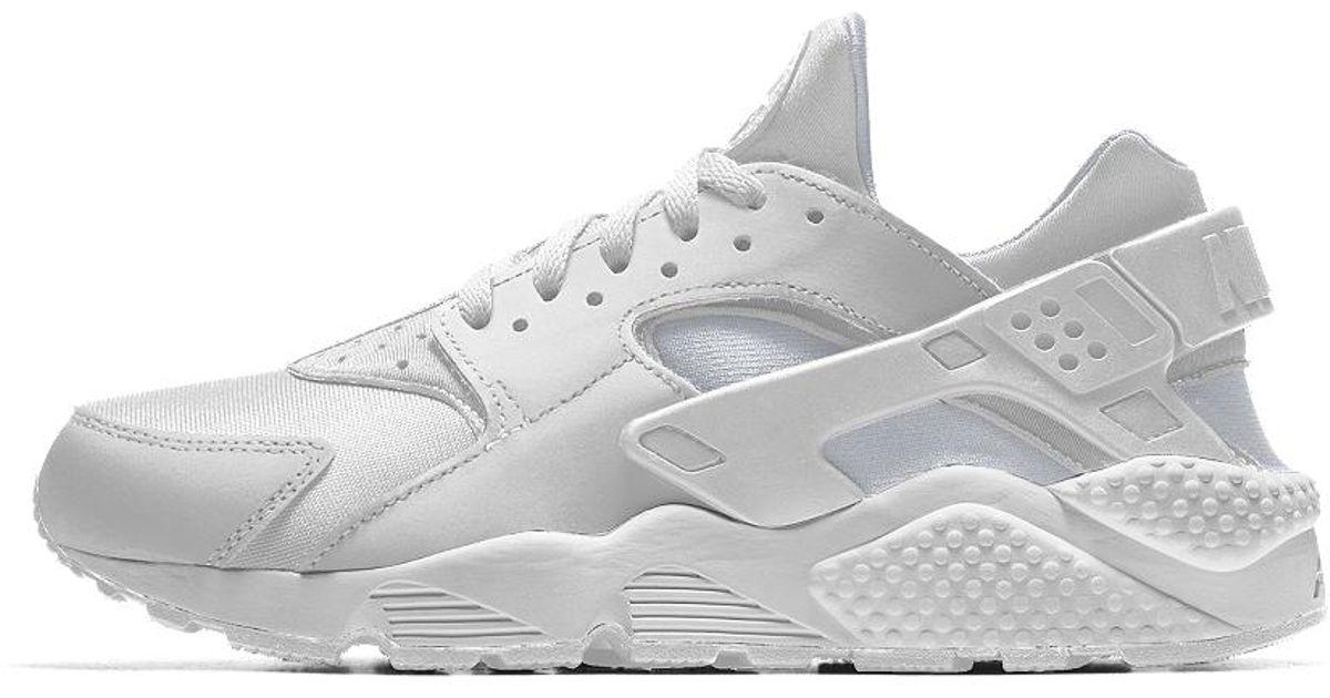 54da6facc15d23 Lyst - Nike Air Huarache Essential Id Men s Shoe in White for Men