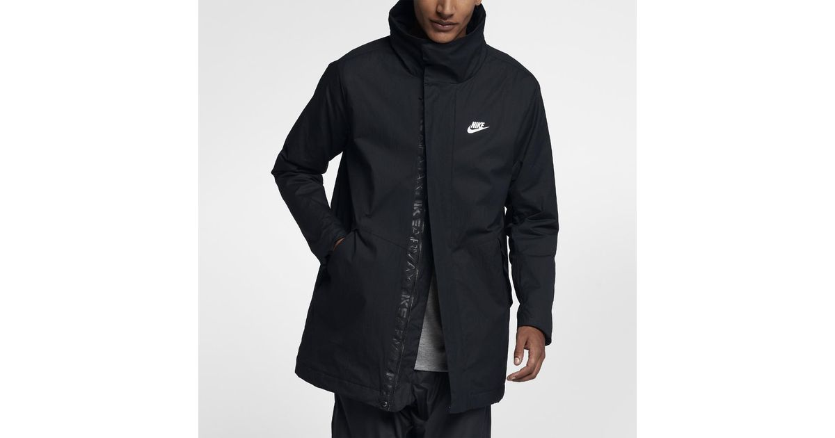Men's Jacket Max For Sportswear Nike Black Men Air Woven ikOPXZu