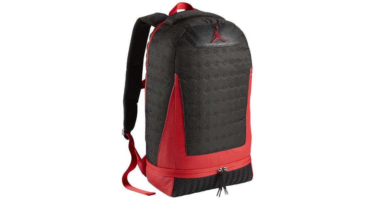 buy popular 67255 0994c Jordan Retro 13 Backpack, By Nike (black) - Clearance Sale