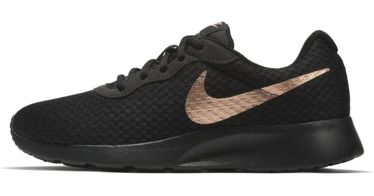 Nike Tanjun Women's Shoe in Black